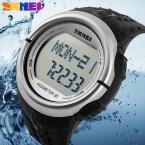 3d-шагомер сердечного ритма монитор счетчик калорий цифровые часы фитнес для мужчин и для женщин открытый наручные часы Skmei спортивные часы