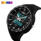 лучших SKMEI мужчины спортивные военные кварцевые часы люксовый бренд мода свободного покроя наручные часы мужские цифровые часы relogio masculino