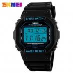 Skmei марка Часы Мужчины Военная СВЕТОДИОДНЫЙ Цифровой Часы Человек Погружения 50 М Мода Открытый Спорт Наручные часы часы relógio masculino