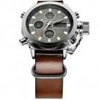 Ksd Relogio Masculino люксового бренда мужчин часы мужские кварцевые час аналоговый цифровой из светодиодов спортивные часы мужчины военный наручные часы