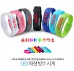 поступление Мода спорт из светодиодов часы цвета конфеты силиконовой резины сенсорный экран цифровые часы, Водонепроницаемый браслет наручные часы
