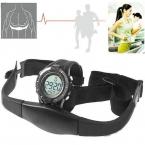 новый горячий беспроводной часы пульсометр фитнес-спортивные часы мужчины нагрудный открытый велоспорт восхождение relojes хомбре
