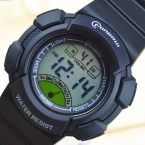 Ударопрочный Цифровые Часы Спорт Сигнализация Секундомер Часы 30 М Водонепроницаемый Платье Часы детская Night Light функция Часы