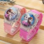 Королева мультфильм часы дети цифровой светодиодный наручные часы малыш ребенок девушка подарок relogio infantil ниньо reloj montre hodinky enfant