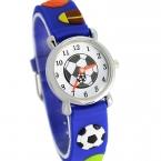 Водонепроницаемый малыш часы детей силиконовые наручные часы футбол марка кварцевые наручные часы ребенка для девочек мальчики мода свободного покроя Reloj