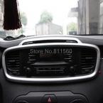 Для Kia Sorento  ABS интерьера центр управления сетевой кондиционер вентиляционные крышки отделкой выпускные рамкой 1 шт.