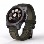 N10 Спорт Смарт Часы для IOS Android телефон Свет тест сердечного ритма монитор с компасом Барометр Bluetooth 4.0 наручные часы