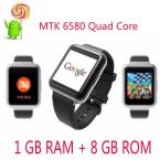 Новые Lemfo MTK6580 Quad Core 3 Г Android 5.1 OS 1 ГБ   8 ГБ Wi-Fi Bluetooth Смарт Часы Smartwatch Телефон разрешение СИМ-Карты