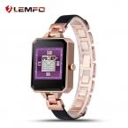 Lemfo LEM2 смарт часы первый Smartwatch для женщин женщин монитор сердечного ритма MTK2502C апк для Apple , IOS Android телефон