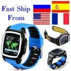 Gps трекер T6 монитор сердечного ритма часы телефон свободного покроя цифровой sim bluetooth износа часы для apple , спорт умные часы андроид