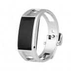 Bluetooth часы D8 Full стали Умный Браслет Синхронизации телефон СВЕТОДИОДНЫЙ Цифровой Часы с Вибрация может ответить на телефон для Смарт-часы