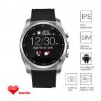 A8 Смарт Часы-Телефон С Экраном IPS HD SIM TF карта Поддерживает Монитор Сердечного ритма Датчик Температуры Наручные Спорт Для Android
