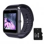 новые горячие продажи Smart Смотреть GT08 Clock Sync Notifier Поддержка Sim-карта TF Bluetooth Подключения Apple iphone Android Телефон