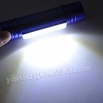 Самый дешевый 2-в-1 6 из светодиодов   Q5 из светодиодов мини-фара фар головного света фонарик AAA лампы Lanterna по 18650, 3 цвет