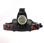Linterna лобной СВЕТОДИОДНЫЕ Фары 8000 Люмен фара T6 3 СВЕТОДИОДНЫЕ Фары головной фонарь edc фонарик   аккумулятор   Автомобиль зарядное устройство   Зарядное Устройство