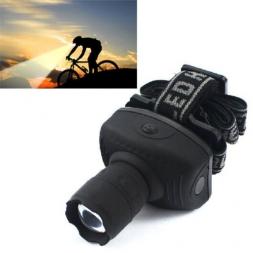 Кри 600 люмен из светодиодов фары фонарик фронтальной фонарь прочный Zoomable головная факел езда на велосипеде лампы для кемпинга охоты