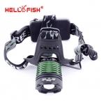 Привет рыбы cree-xml T6 1000lm из светодиодов фары фара, 1000 лм увеличить факел / фонарик