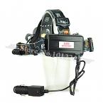 Boruit RJ-3001 5000 люмен XM-L T6   2R5 из светодиодов аккумуляторная глава факел 4 режим фары фонарик головного света   2 x 18650 аккумулятор и зарядное устройство