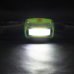 Мини 3 Режима Водонепроницаемый 400Lm СВЕТОДИОДНЫЙ Фонарик на открытом воздухе Фар Фар глава свет лампы Факел Lanterna с Оголовьем HA10654