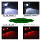 Мини фара 4 режим водонепроницаемый 600Lm R3 2 из светодиодов фонарь супер-яркий фар фары факел Lanterna с повязка на голову