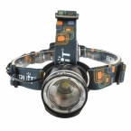 Boruit водонепроницаемый 2000 люмен нью-cree XM-L T6 из светодиодов фар фары Zoomable головная лампа фонарик фонарь 5 режим бесплатная доставка