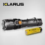 1 компл. кларус RS11 930 lumens нью-cree XM-L U2 4-режиме из светодиодов водонепроницаемый наружный из светодиодов фонарик двойной переключатель аккумуляторная факел w / 1 x 18650