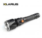 1 компл. кларус RS20 разноцветные фонарик нью-cree XM-L анти-уф 650 МВт магнитный аккумуляторная водонепроницаемый из светодиодов фонарик ж / 18650