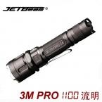 Jetbeam 3 м PRO полиция фонарик кри XP-L из светодиодов 1100 Lumens факел Selfdefence тактическое оборудование на 18650