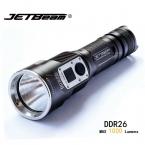 Jetbeam DDR26 тактический фонарь кри XM-L2 из светодиодов 1000 lumens аккумуляторная цифровой дисплей фонарик совместимую ж / 18650