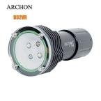 Archon D32VR 2 * нью-cree XM-L U2 дайвинг Flashight факел 60 м под водой 1400 люмен белый из светодиодов видео на 2 и зарядное устройство