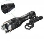 Trustfire J1 нью-cree XM-L T6 900LM 4-белого режима из светодиодов фонарик ж / ремешок ( 1 x 18650 ) 8 percent  от