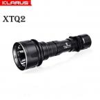 Кларус XTQ2 ультра-дешевый ультра-тихий кри XM-L2 U2 870 лм тактический фонарь водонепроницаемый из светодиодов факел with18650 аккумулятор