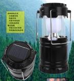 Портативный солнечное зарядное устройство фонарь из светодиодов кемпинг фонарь аккумуляторную с зарядка Calbe   USB порт рукоятка свет лампы
