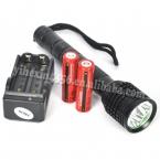 5000 Lumens 3T6 глава фонарик из светодиодов фонарик 3X XML T6 вспышка света лампы 18650 тактического фонаря охота фонарь   зарядное устройство