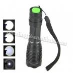 Акции 2000 Lumens 5-Mode XM-L T6 из светодиодов фонарик масштабируемые фокус факел linternas самообороны на 1 * 18650 или 3 * AAA оптовая продажа