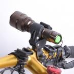 Спорт на открытом воздухе велоспорт фонарик держатель велосипед факел держатель поддержка клип зажим фонарь велосипед черный аксессуары для велосипеда