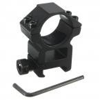 Высокое качество 25.4 мм высокого профиля Fit 20 мм Picatinny ткача-рейке для фонарик факел охотничьи принадлежности