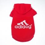 Большой Adidog собака осень зима Hoodies100  percent  чистого хлопка-ватник золотистый ретривер лабрадор большая собака одежда, Большой Adidog толстовки
