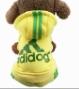 новинка весна осень зима щенок пальто толстовки, Пэт хлопок спортивная одежда для собак, Небольшой Adidog четыре ноги балахон