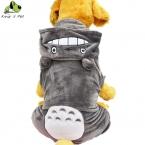 Большая Собака Костюм Теплая Зима Дракон Cat Pattern Толстовки Пальто симпатичные Четыре Ноги Комбинезон Одежда Для Собак Размер 3XL-9XL