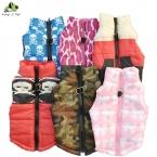 Осень Зима Pet Puppy Dog Тафта Тяги Пряжки Животное Вниз и Парки Свитер Хлопка Теплая Одежда Для Собак   прибытие