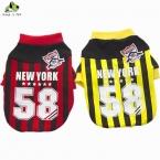 одежда для собак хлопок животное балахон пальто костюм бейсбол наряд одежды для маленьких собак размер S-XXL