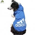 Adidog Большой Размер Зима Теплая Pet Толстовки Большой Ретривер Собака Одежда Куртка Пальто Хлопок Одежда Спортивная Одежда Для Собак 3XL-9XL