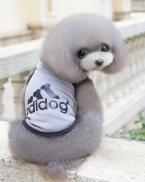 Домашних собак кошку футболка одежда Adidog жилет пальто милый пагги костюмы жилет футболка Pet Adidog одежды в весна лето