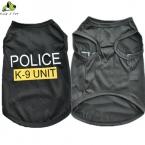 Мода Собака Полиции К-9 Блок Письмо Отпечатано Жилет Лето Прохладный Щенок Кошка Удобные Костюмы Одежда Высочайшее Качество