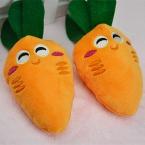 Новые игрушки для собак любимчика щенок чу пищалка безворсовой звук морковь игрушки 13 - 14 см длина пэт игрушки лучшее качество для продвижения бесплатная доставка