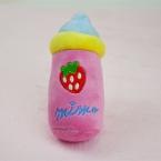 молоко собак игрушки любимчика щенок чу пищалка скрипучий безворсовой звук игрушки розовый синий конструкции 13 - 14 см длина пэт игрушки бесплатная доставка