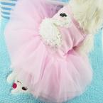Весна Лето Симпатичные Собаки Любимчика Лебедь Платье Юбка Собак Pet Cat Одежда   Горячий Продажа Лучшее Качество Оптовая