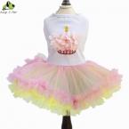 Лето платье тедди торт форма собака платья для собак подходит  новые одежды бесплатная доставка