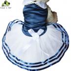 Pet Одежда Для Собак Симпатичные Собаки Любимчика Твердые Платья Летом Пудель чихуахуа Собака Рубашка Pet Продукты Синий Красный Размер XS-XL Бесплатная Доставка доставка